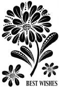Woodware - Bold Blooms – Helen - Clear Magic Single Stamp - JGS570